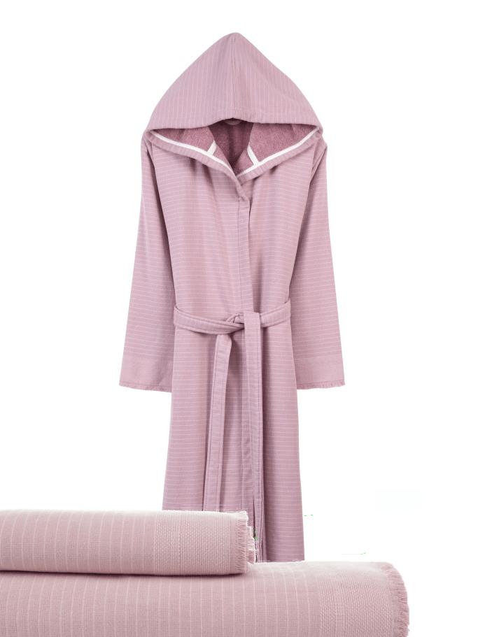 Badjas met capuchon 'Simba'. Met handdoeken. In kleuren. Maat 2. Voordeelset.
